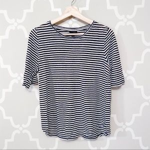 Who What Wear Striped Tee